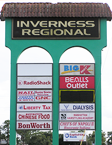 Inverness Street Sign