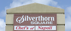 Silverthorn Square Sign
