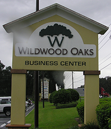 Wildwood Oaks Business Center Sign